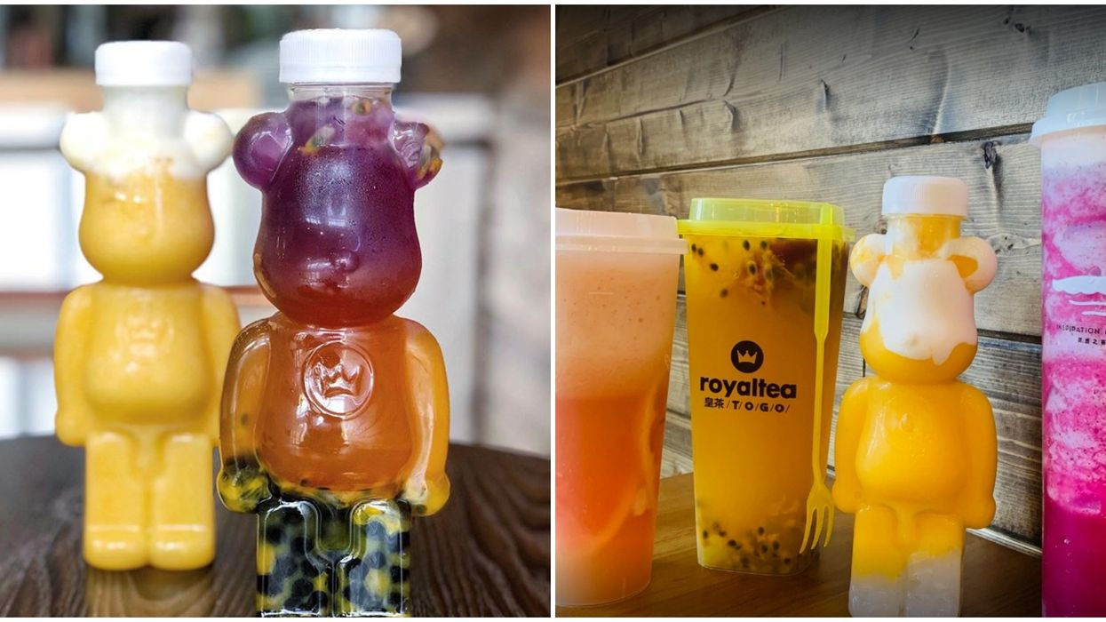 If Calgary's Bubble Tea Teddy Bears Don't Cheer You Up, Nothing Will