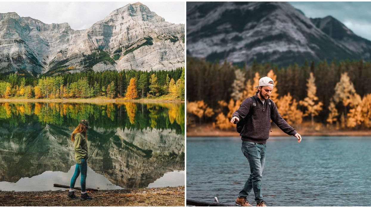 Wedge Pond Alberta Is A Slice Of Fall Paradise That You Can Reach With A 1-km Walk