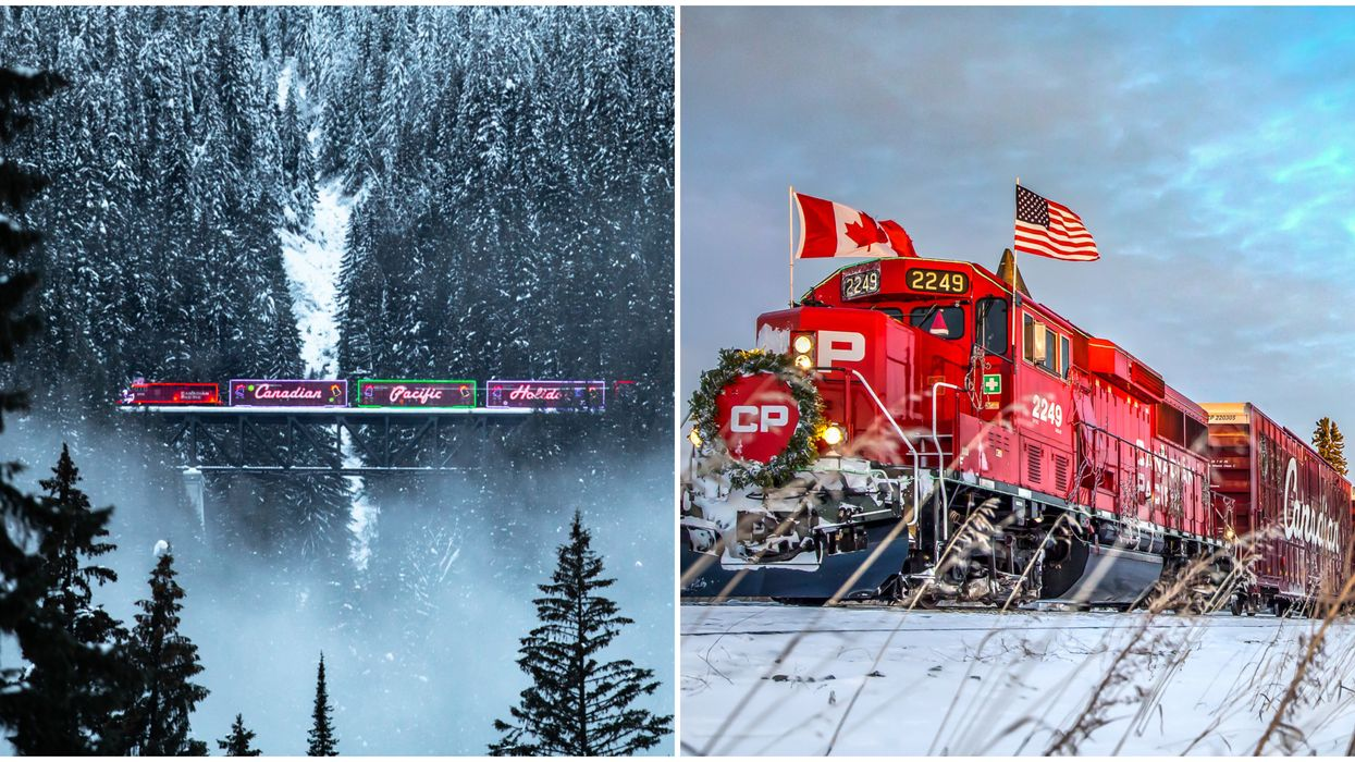 CP Holiday Train In Canada Is Cancelled For The First Time In Over 20 Years