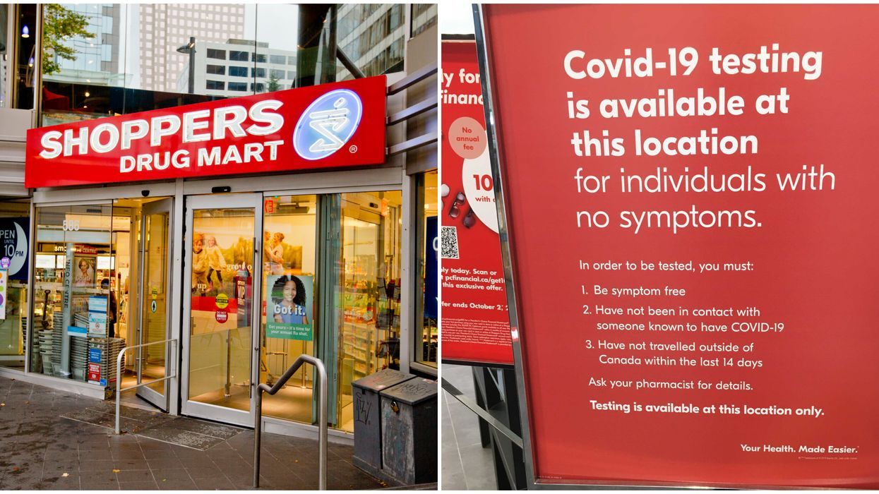 Toronto Pharmacies Are Now Open For COVID-19 Testing & Here Is How It Works  (PHOTOS)