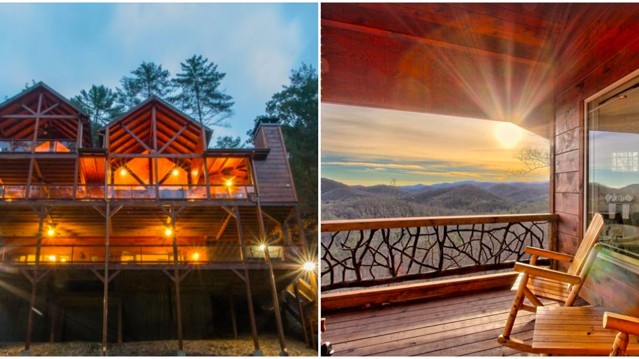 Cabin Rentals In Georgia That Are Perfect For A Fall Girls Trip