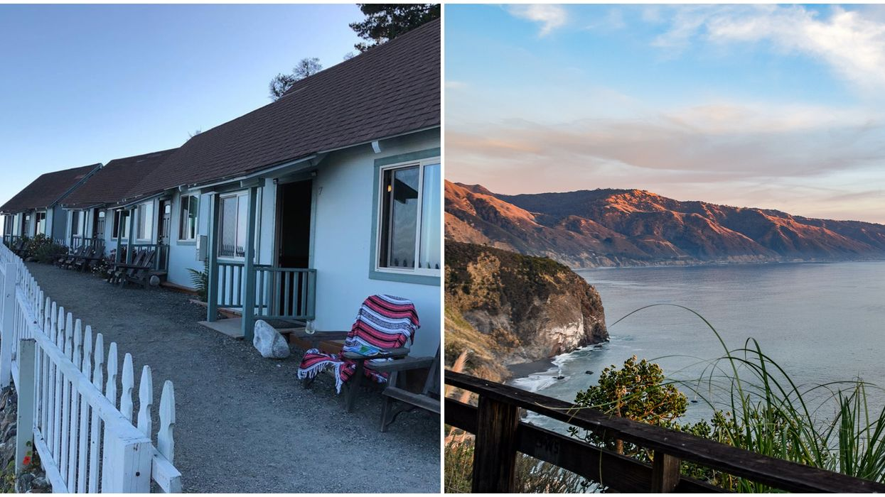 Lucia Lodge In California Is Where Ratched Film & You Can Stay The Night