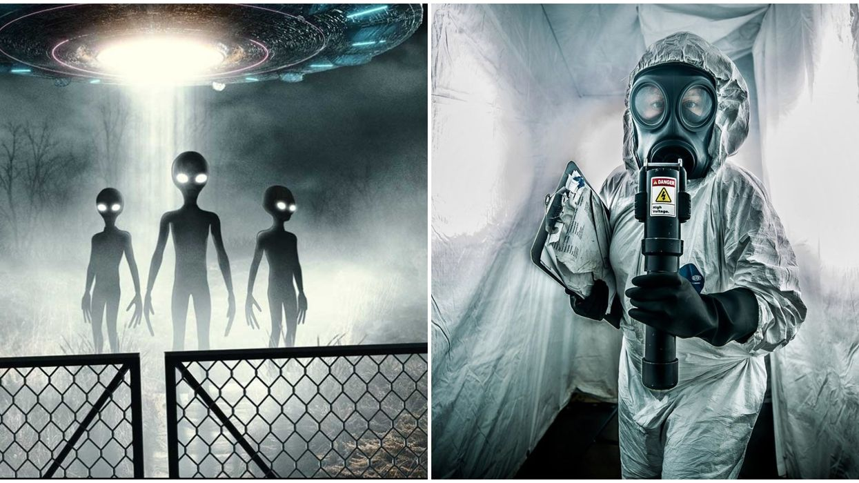 An 'Area 51' Haunted House Just Opened In Edmonton & Your Lungs Will Hurt From Screaming