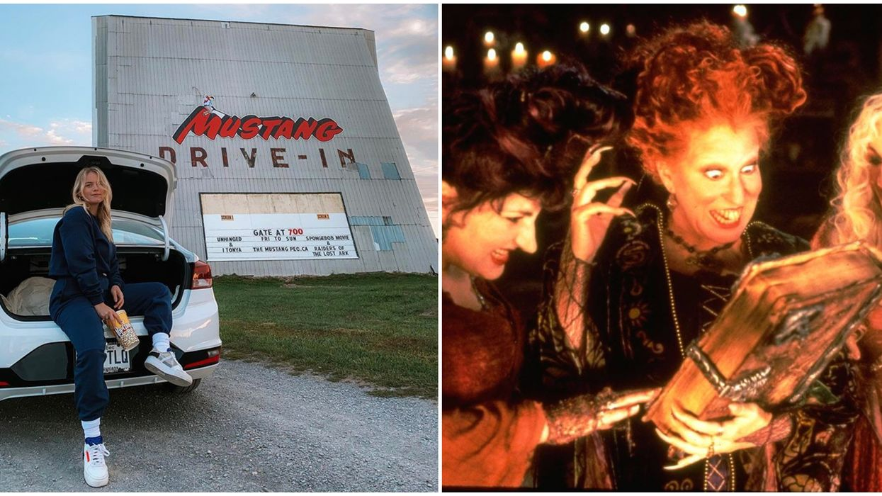 You Can Spend Halloween Watching Spooky Movies Under The Stars At This Ontario Drive-In