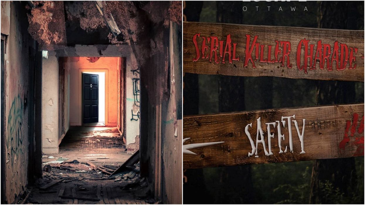 Ottawa's Serial Killer Escape Room Will Trap You In A Terrifying Abandoned Cabin