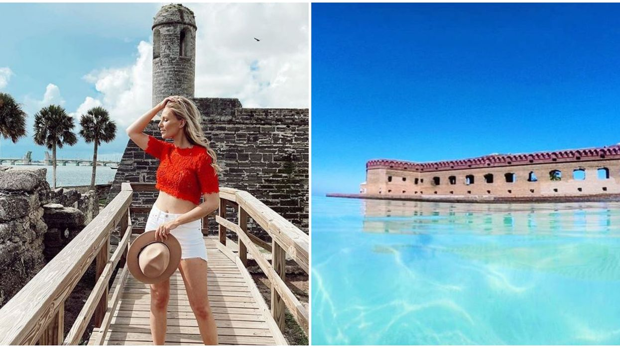 Florida Forts to Explore That Will Take You Back In Time