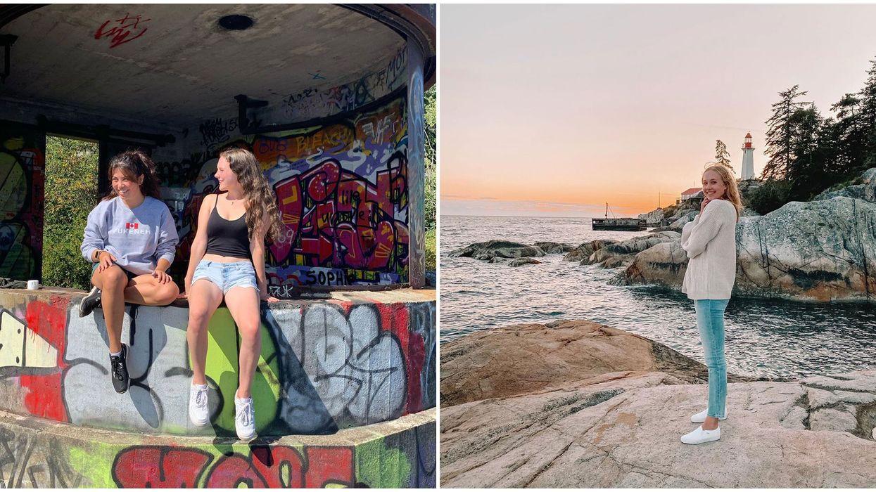 Vancouver's Lighthouse Park Has A Secret Graffiti-Covered Abandoned Bunker