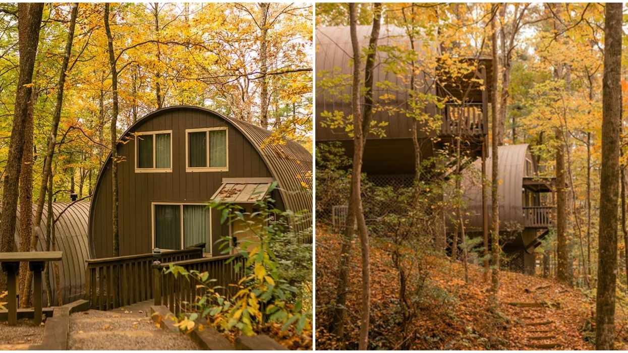 Georgia Unicoi State Park Camping Pods Are The Perfect Way To Glamp The Fall Foliage