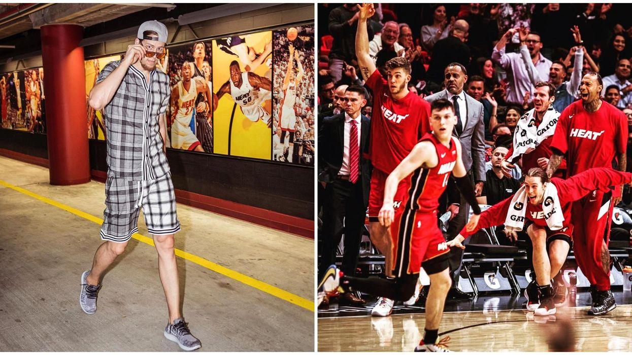 Miami Heat's Kelly Olynyk Grew Up In Toronto & Loves The Raptors