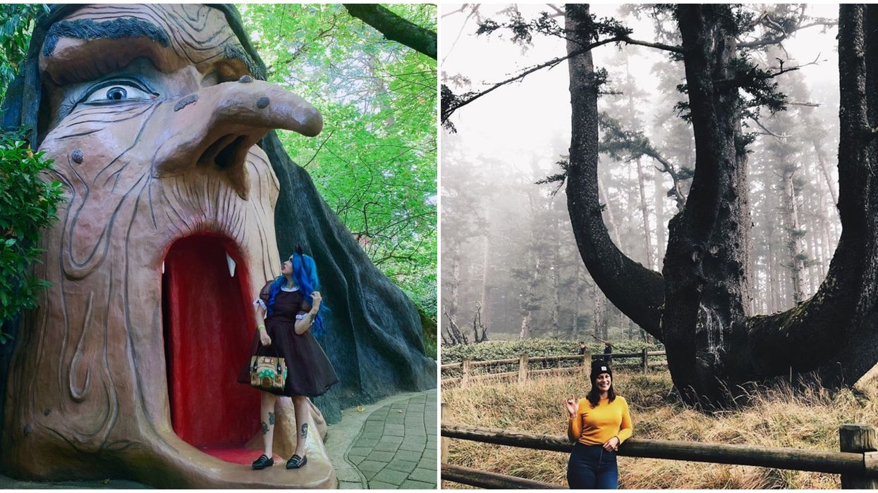 7 Places To Visit In Oregon This October If You're In The Spooky Season Mood
