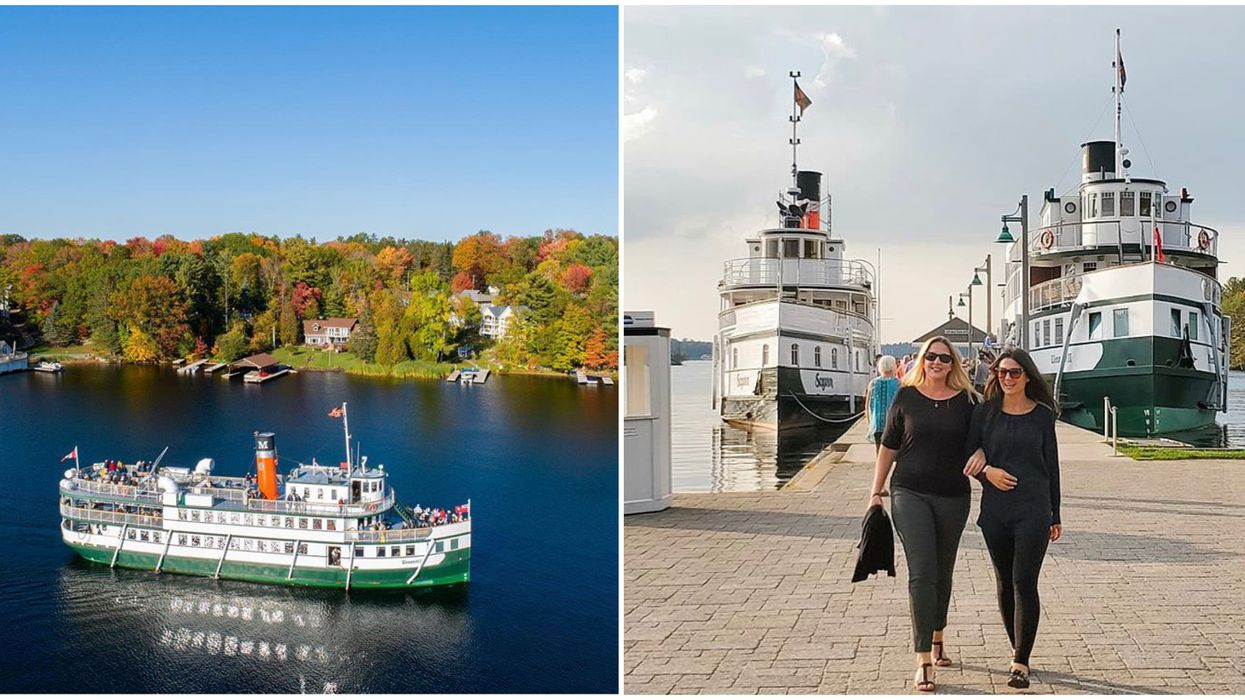 Ontario's Fall Colours Cruise Will Take You Past Vibrant Shorelines