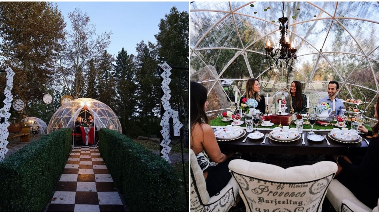You Can Enjoy High Tea In A Magical Dome Starting This Week In Calgary