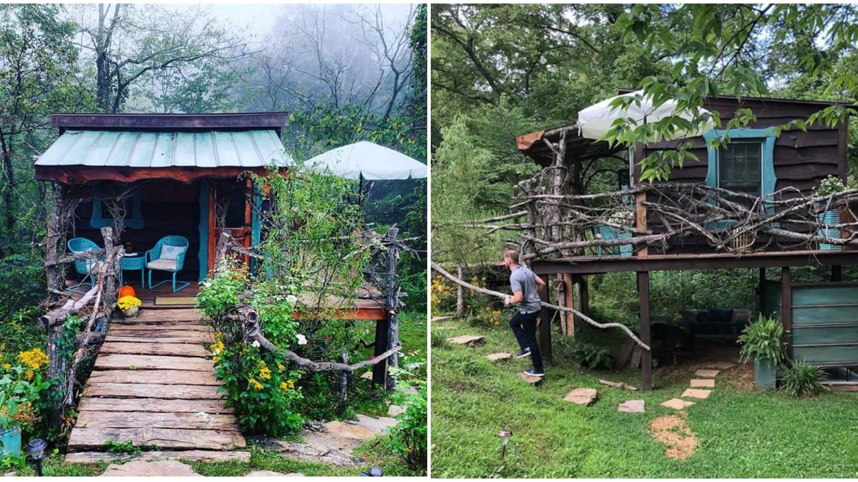 North Carolina Airbnb In Asheville Is An Enchanting Forest Getaway