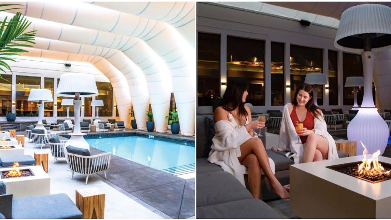 Hotel Arts' Pool Is Turning Into A Tropical Paradise For Winter & It Will Forever Be 24C