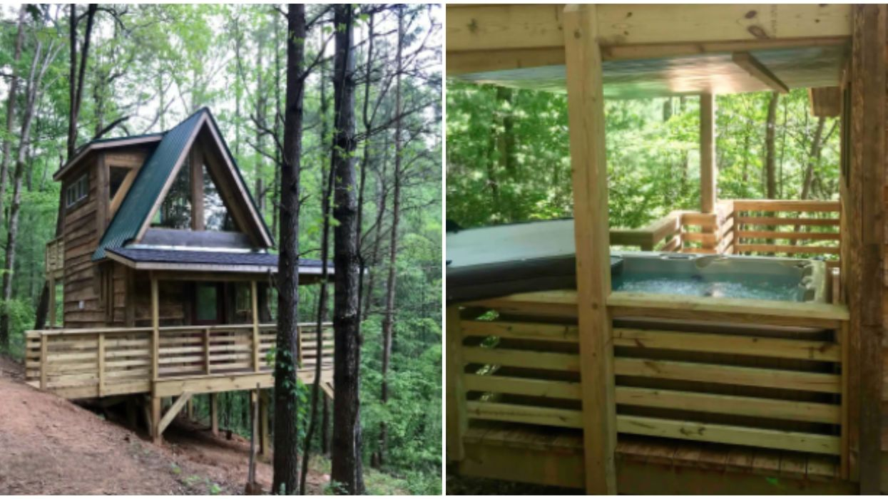 Airbnb Treehouse In Georgia Is The Most Ideal Romantic Getaway Spot