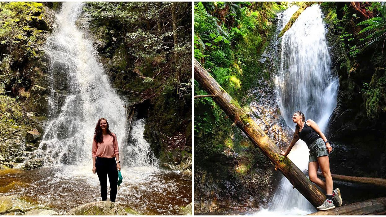 Hiking Trail Near Vancouver Doubles Your Waterfall Fun & It's Super Easy