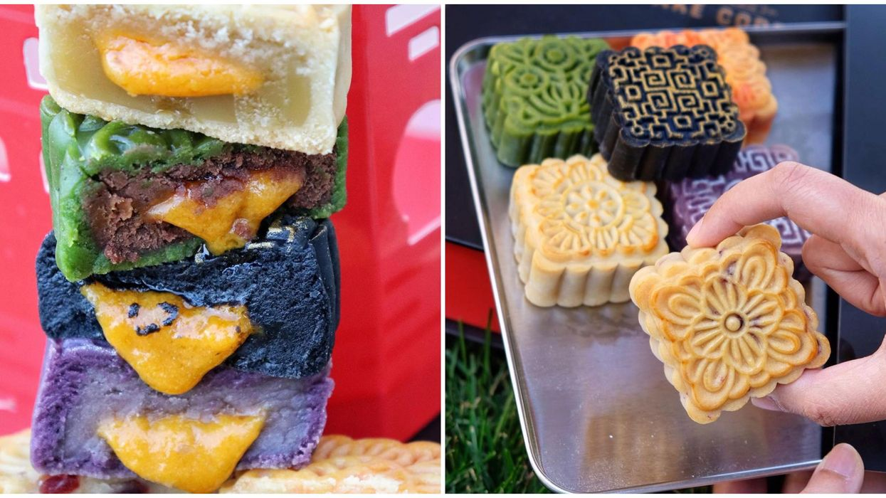 Toronto Mooncakes For Sale Come In Rainbow Colours At This Spot