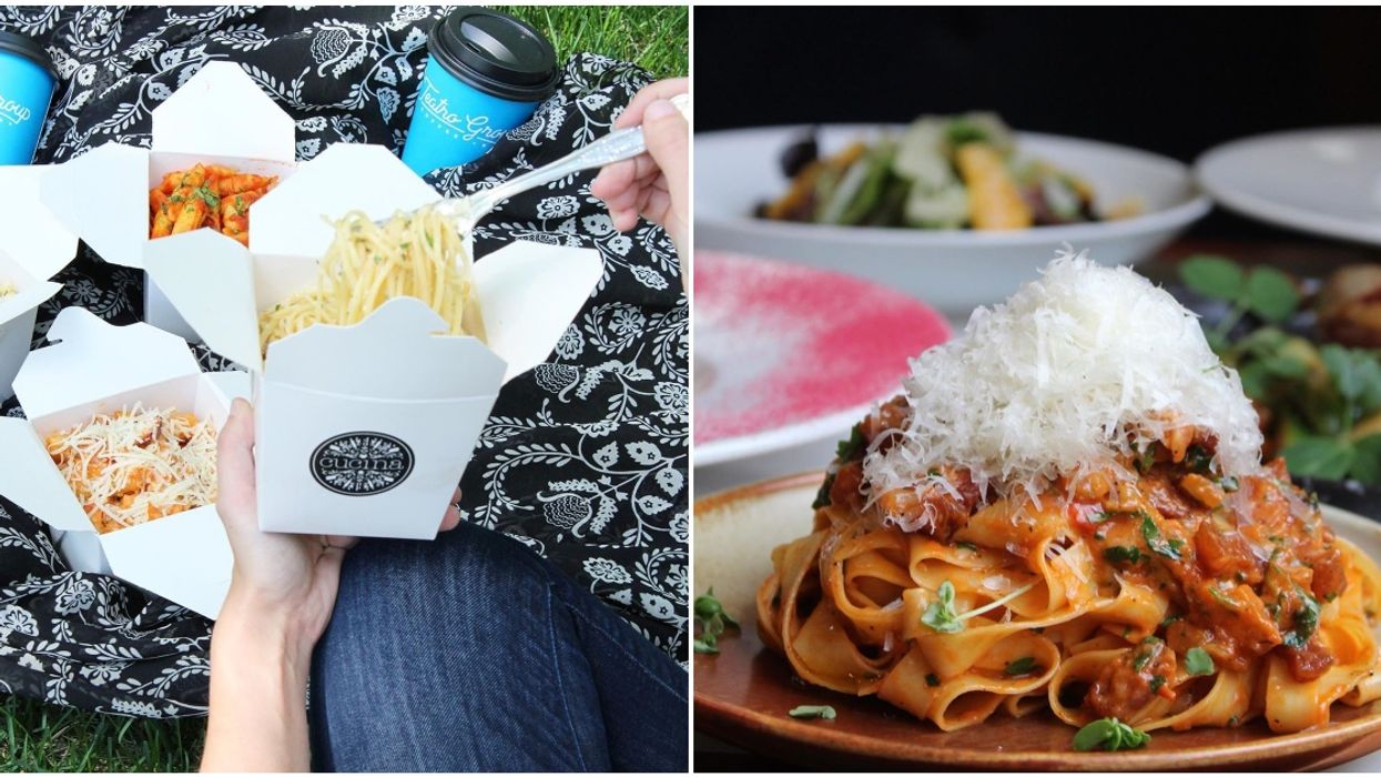 Calgary's Having A Massive Pasta Party This Month & 11 Restaurants Have New Dishes For You