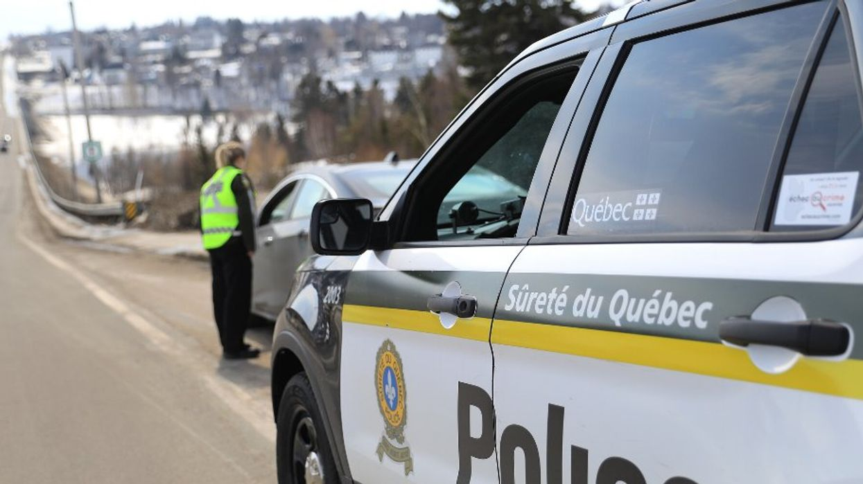 Des points de contrôle de la SQ vont se tenir dans ces régions du Québec ce week-end