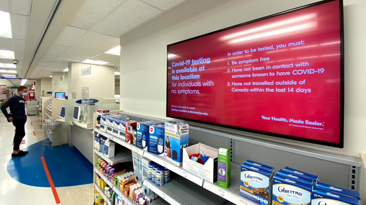 COVID-19 Testing At Shoppers Drug Mart In Toronto Booked Solid All Week