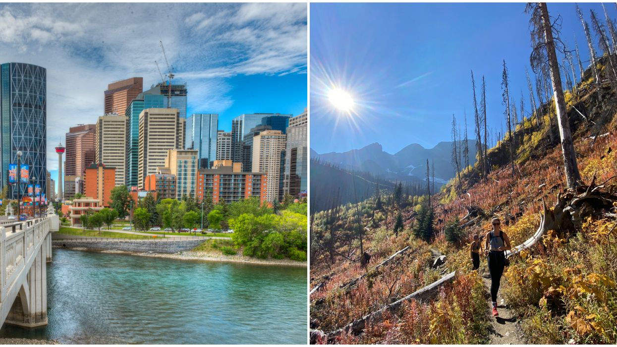 Warmer Than Usual Fall Weather In Alberta Might Stay Until December.