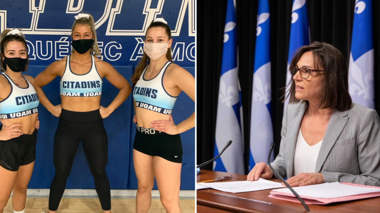 Les sports d'équipe sont officiellement suspendus en zone rouge au Québec