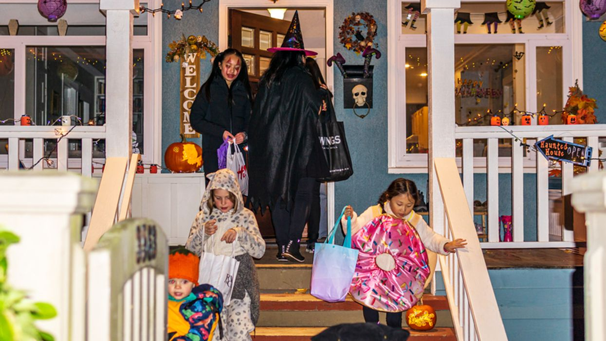 Halloween In Vancouver: BCCDC Says To Build Candy Slides For Trick Or Treaters