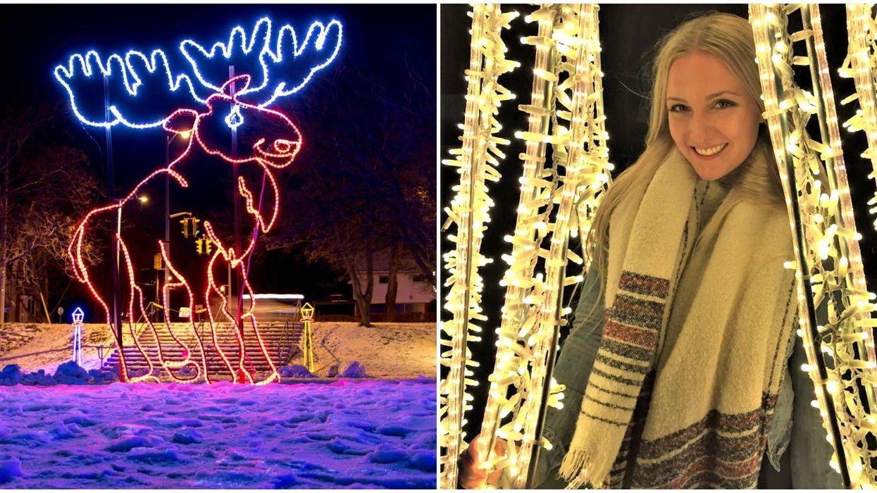 You Can Wander Through An Enchanting Village Of Lights Near Toronto Next Month