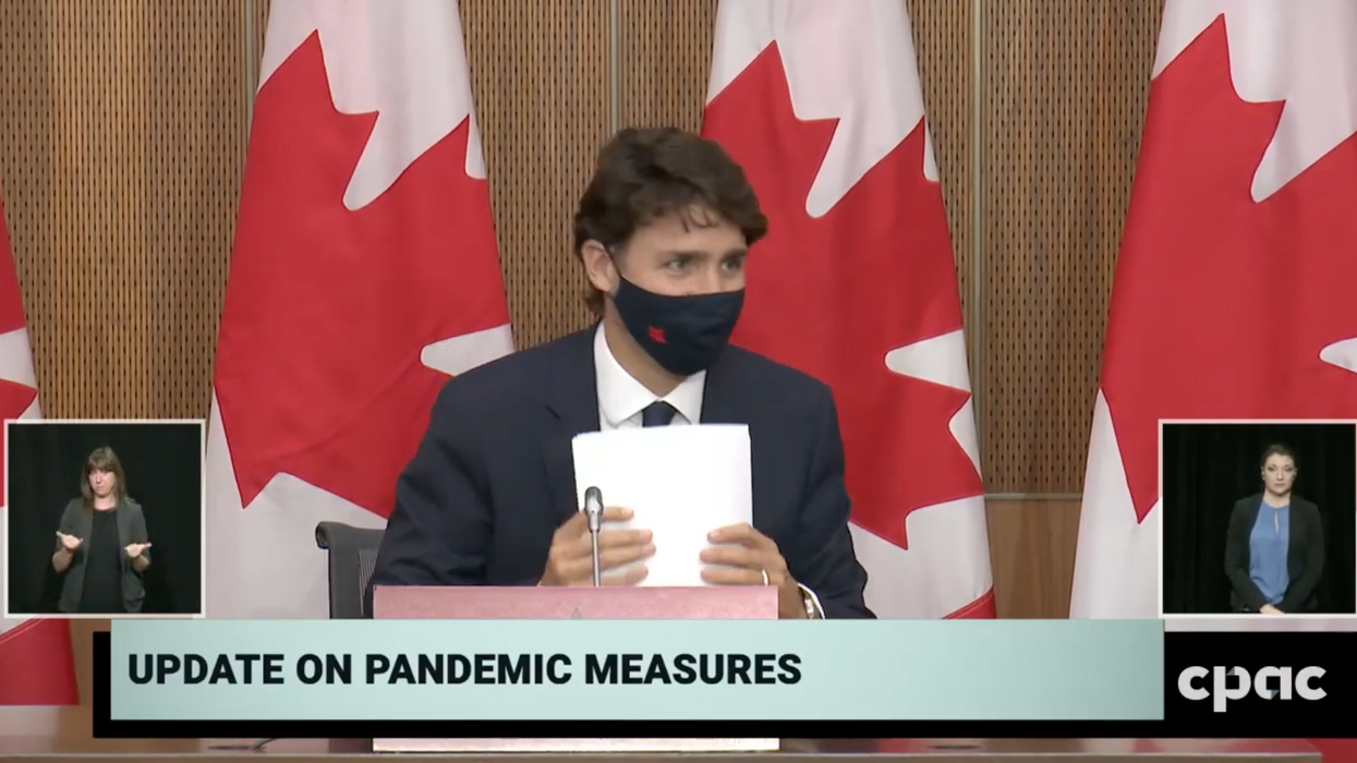 Trudeau Was Tested For COVID-19 In September After He Had A 'Throat Tickle'