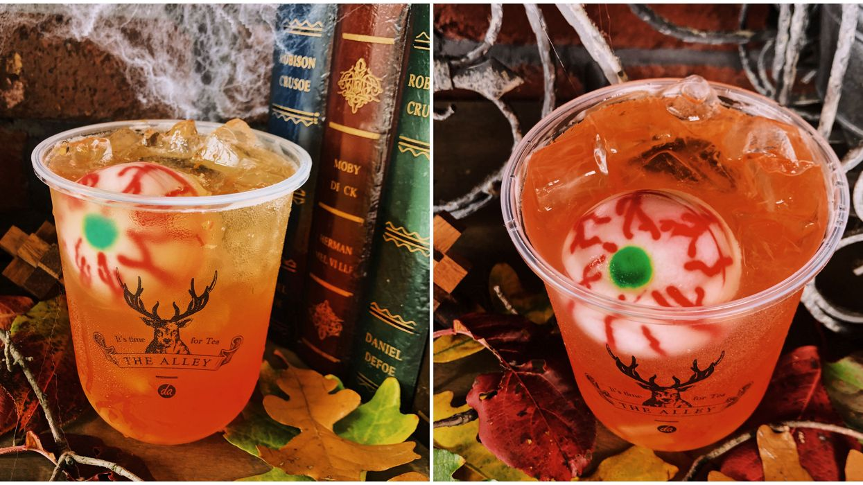 The Alley's New Halloween Drink For October Is Canada's Scariest Halloween Treat
