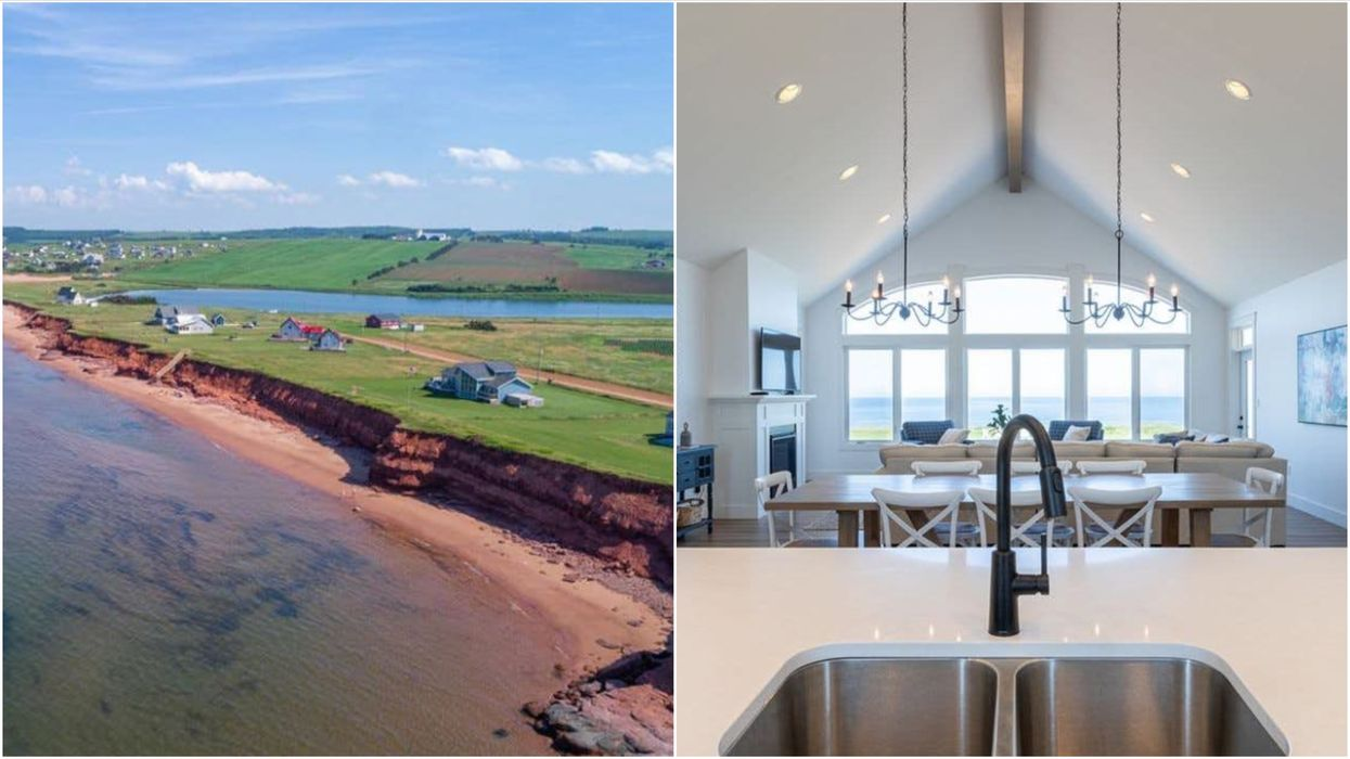 House For Sale In PEI Has A Huge Beach In The Yard & Is Cheaper Than A Toronto Condo