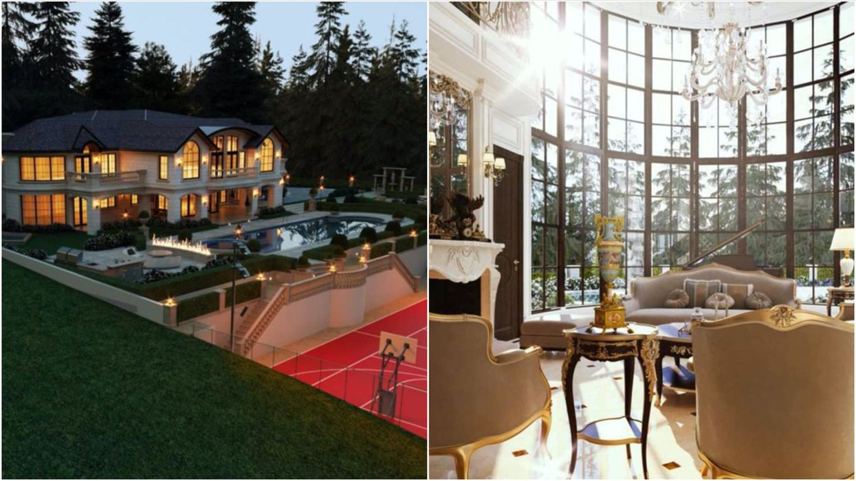Vancouver Mansion For Sale Is Totally Huge & Every Space Is Wilder Than The Next