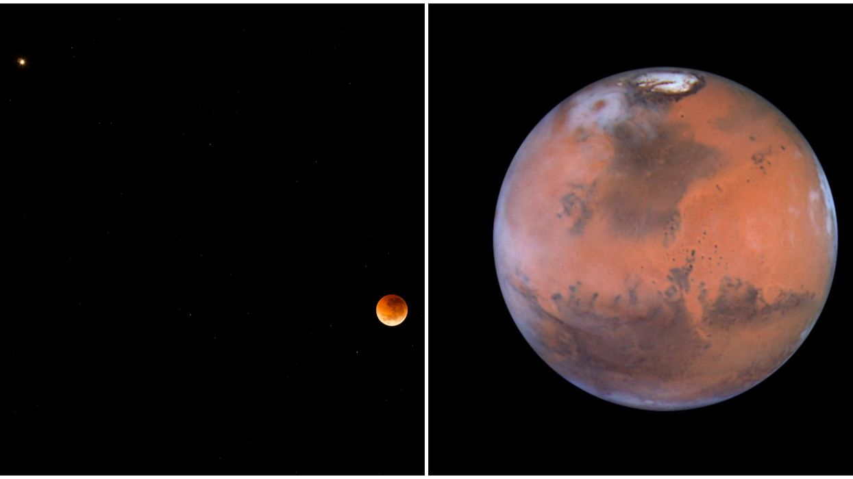 Mars In The Sky Will Be The Closest The Planet Has Been To Earth In 2 Years