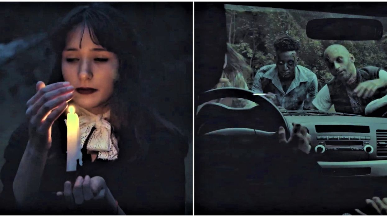 Ottawa's Terrifying Haunted Drive Is About To Open & You'll Want To Lock Your Doors