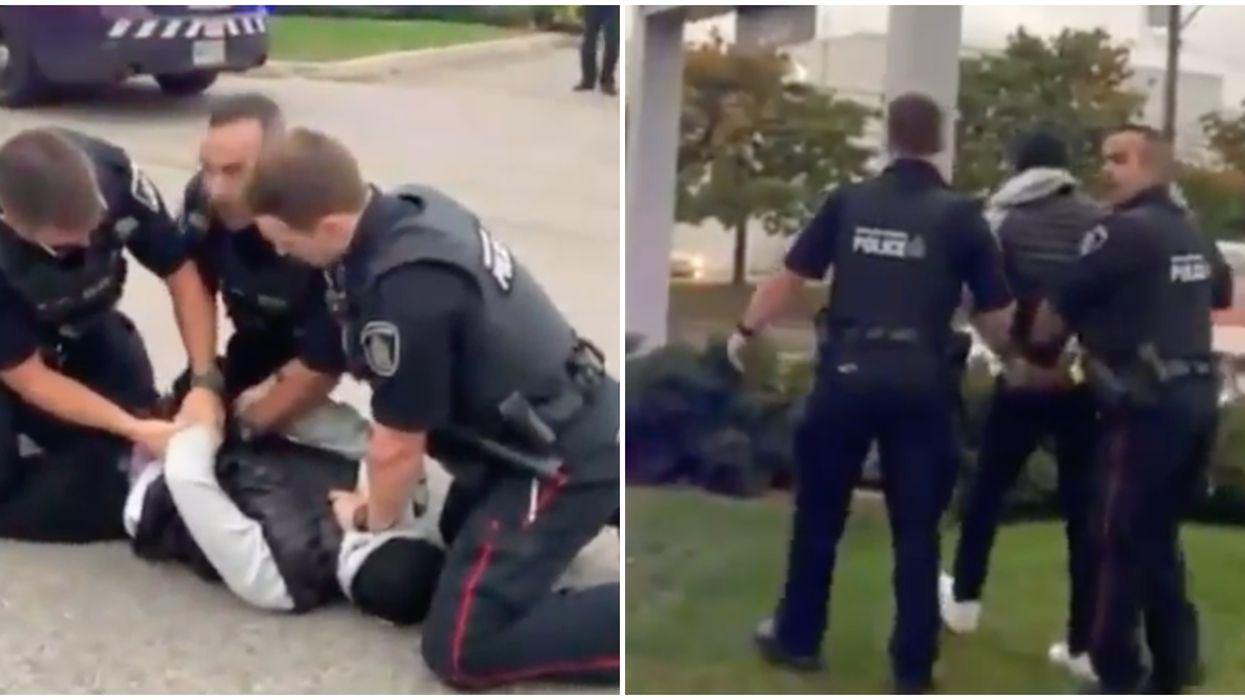 Waterloo Police Arrest Video OF Black Teen Sparks Criticism