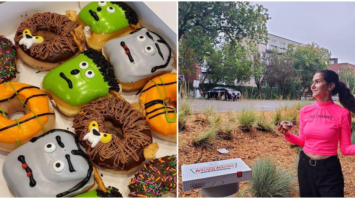 Krispy Kreme lance des beignes pour souligner Halloween