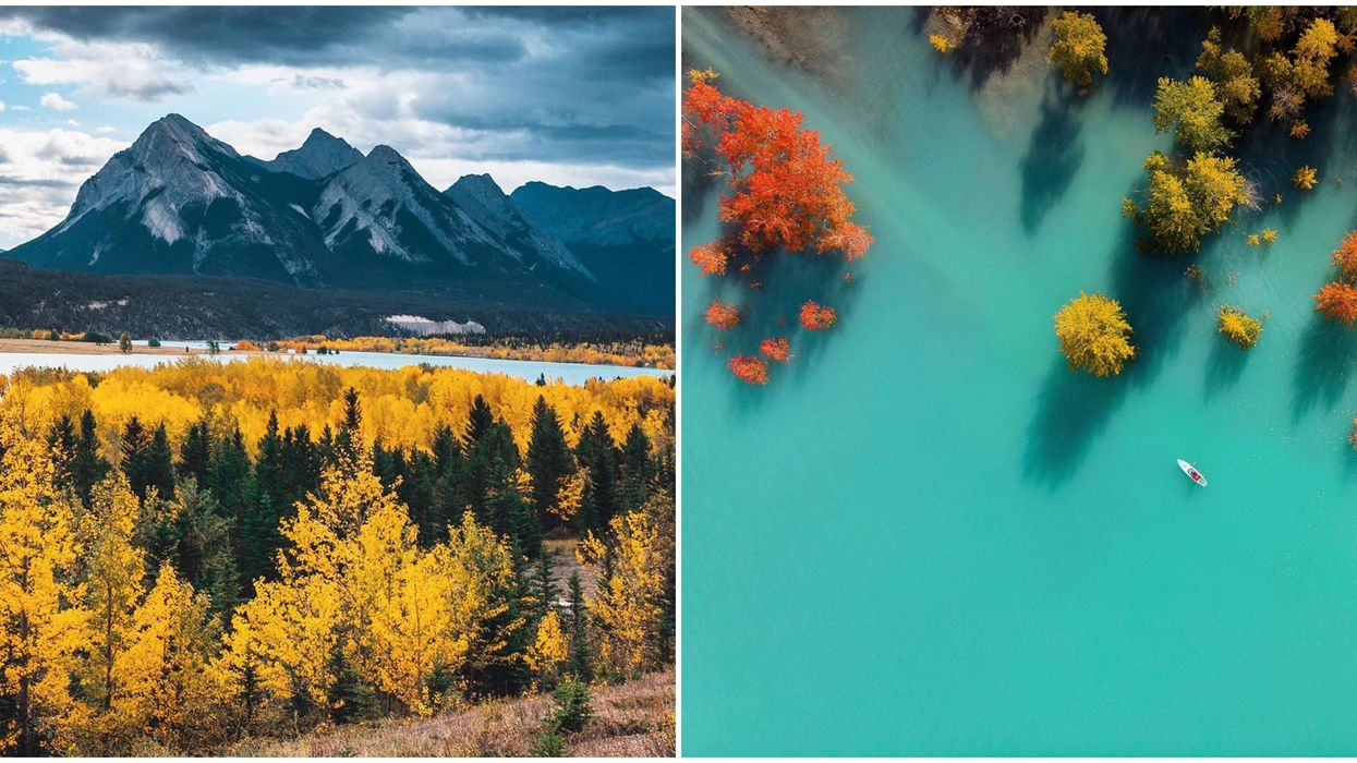You Need Make The Trip To This Surreal Alberta Lake Before It Freezes Over For Winter