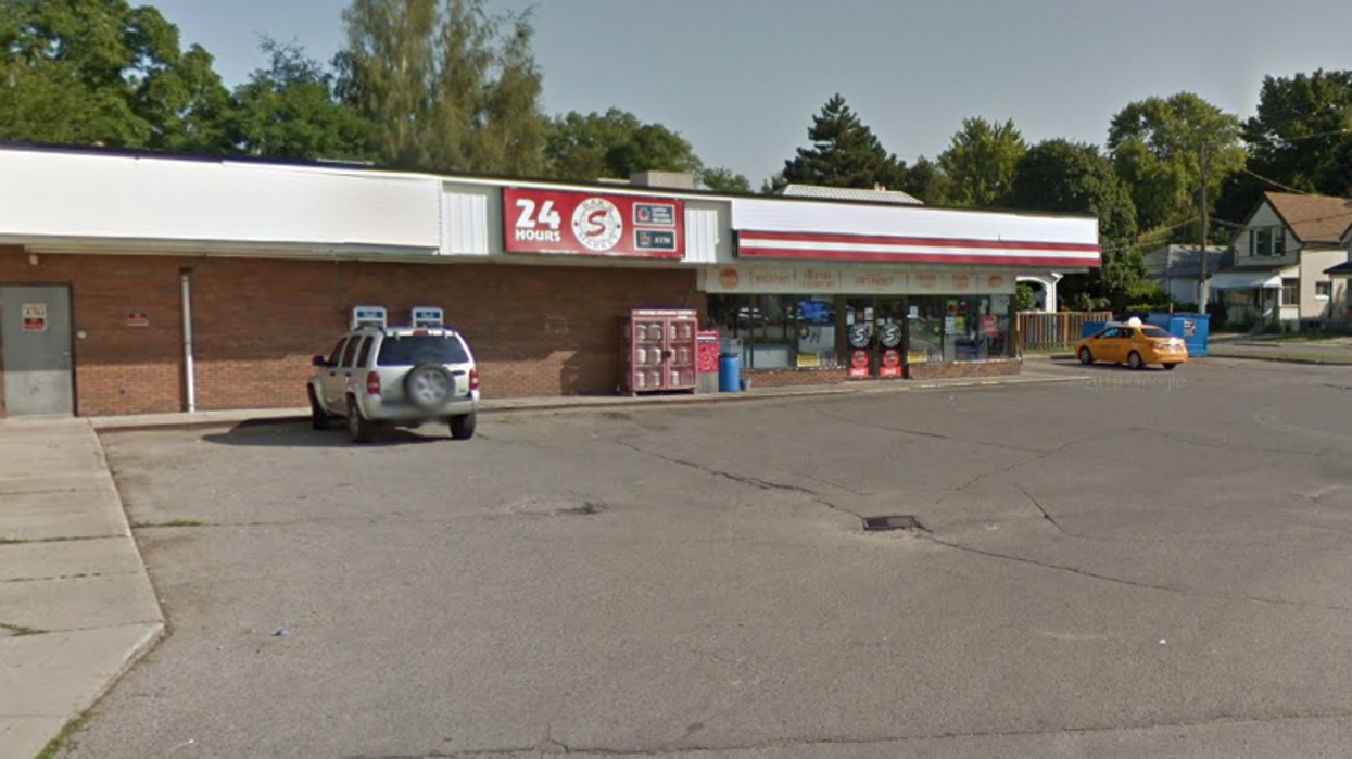 An Ontario Driver Rammed Into A Store Twice After Getting Into A Fight With The Clerk