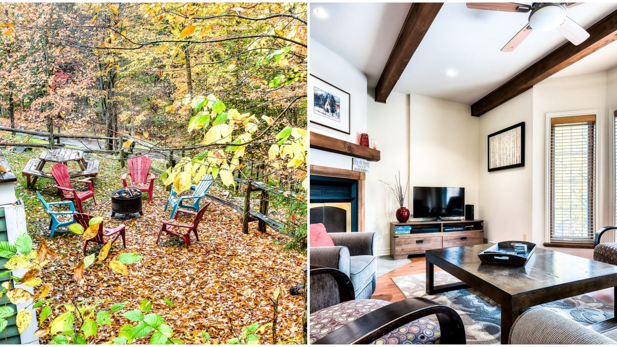 Mont Tremblant House For Sale Shows Off Fall Colours & Costs The Same As A Toronto Condo