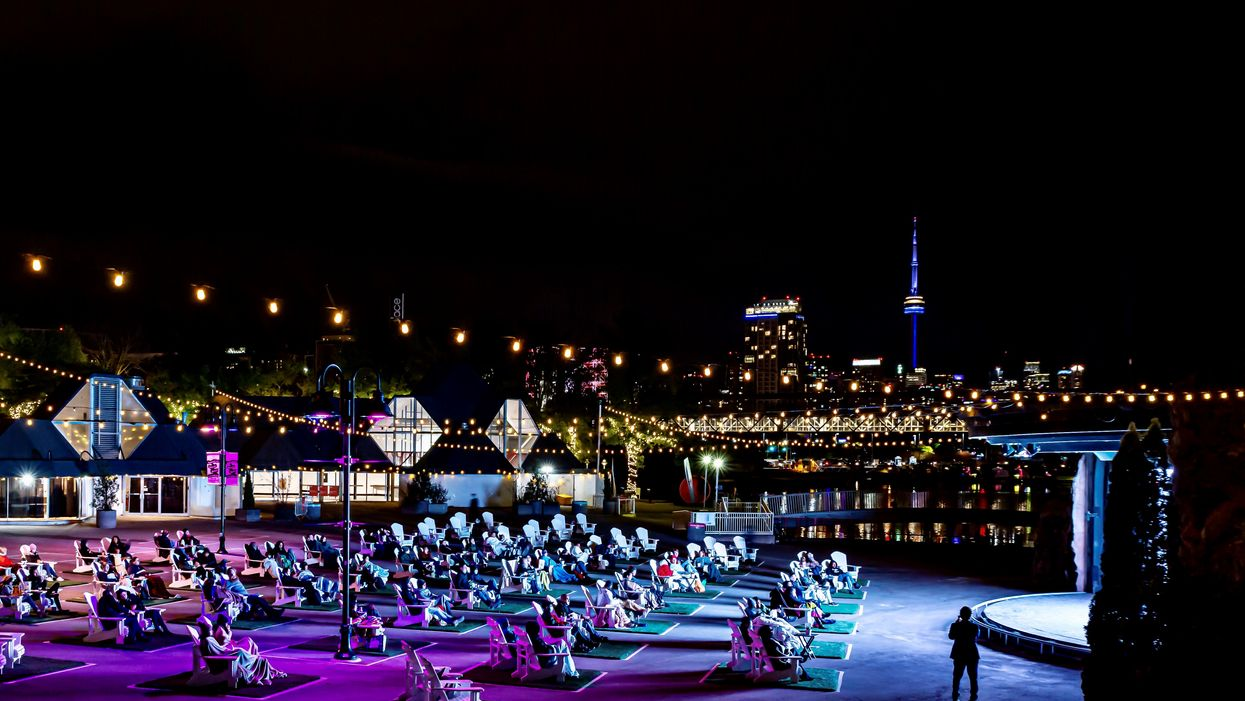You Can Watch Movies Under The Stars At Ontario Place's New Outdoor Movie Theatre