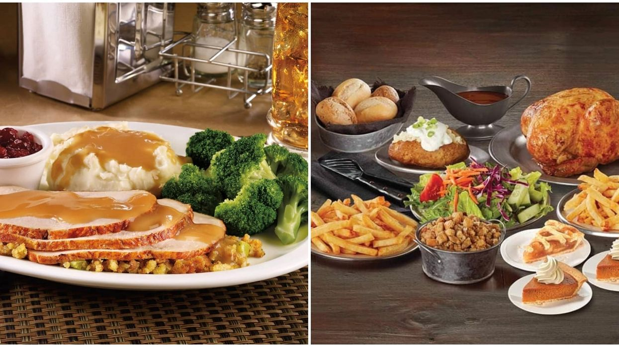 Thanksgiving Dinner Can Be Delivered To Canadians By 2 Restaurants