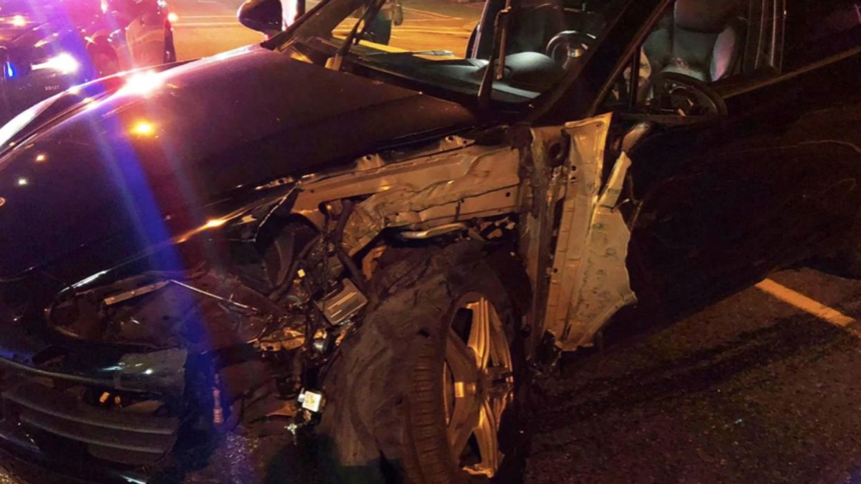 A Super Drunk Woman Crashed Her Porsche In Vancouver & She Was Also Breaking Quarantine
