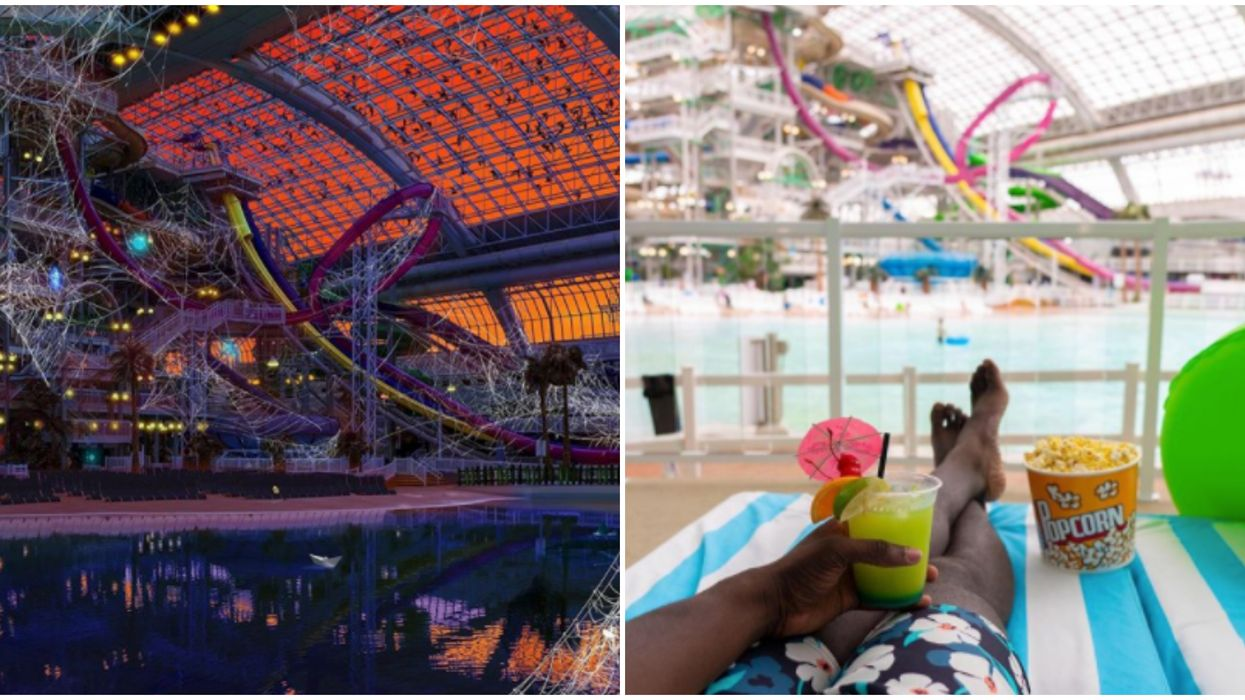 World Waterpark Is Throwing An Adults-Only Halloween Party That Goes Until Midnight