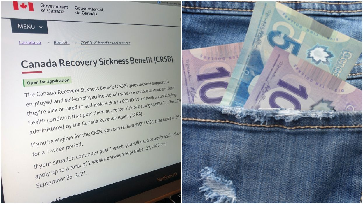 CRB In Canada: 240,000 Canadians Applied On The First Day Possible