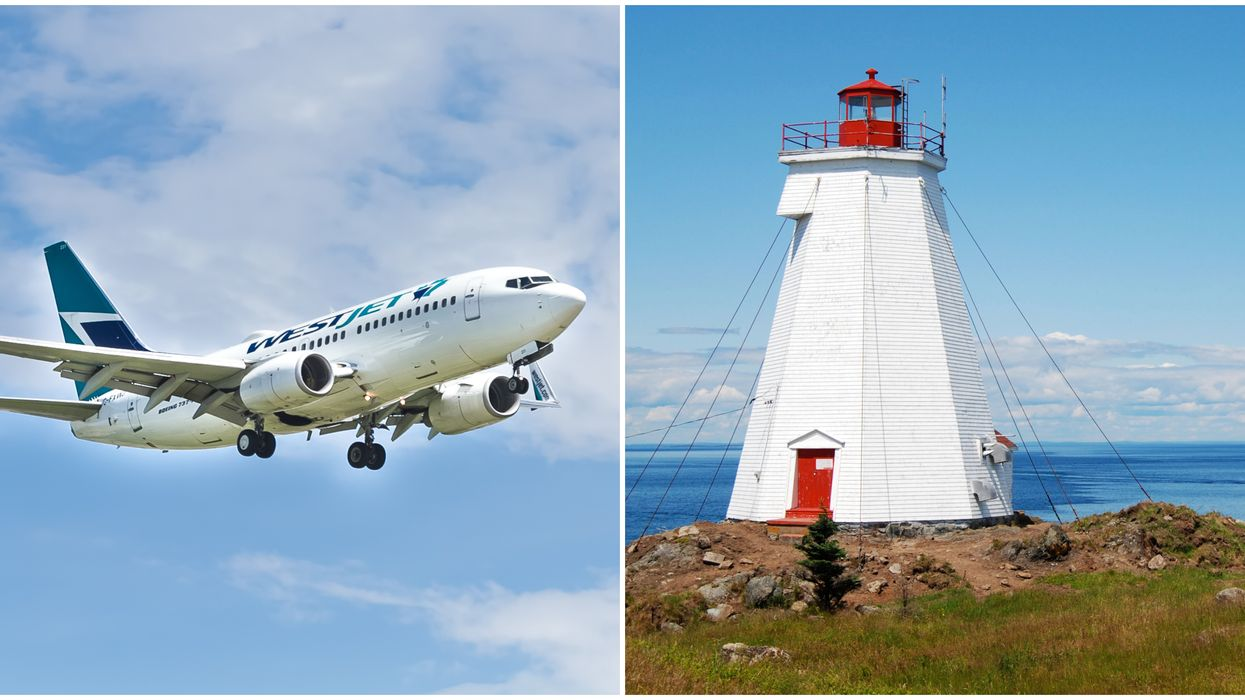 WestJet Flights To 4 Atlantic Canada Cities Are Being Suspended Indefinitely