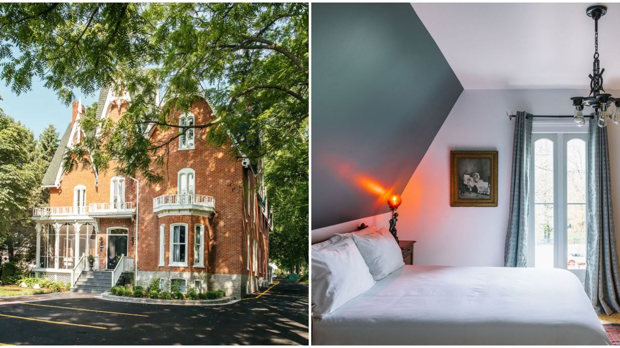 Haunted Airbnb In Canada Is Just A Fall Road Trip Away From Toronto