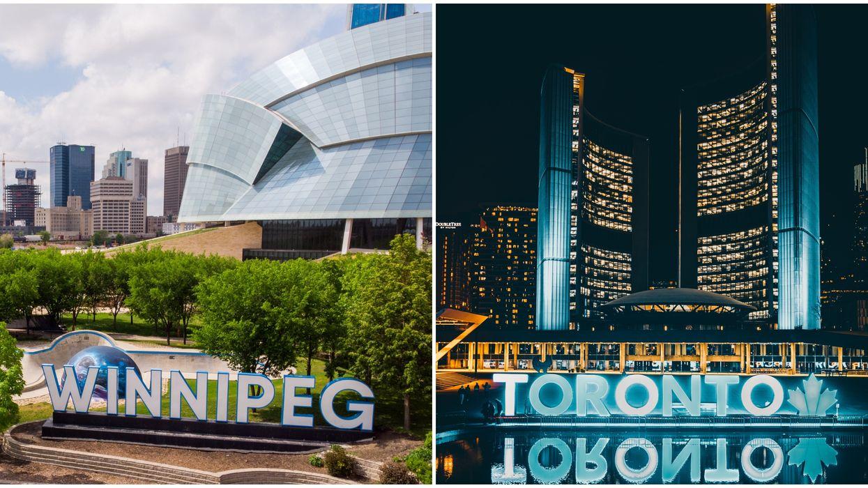 COVID-19 In Winnipeg Is Now Just As Bad As It Is In Toronto