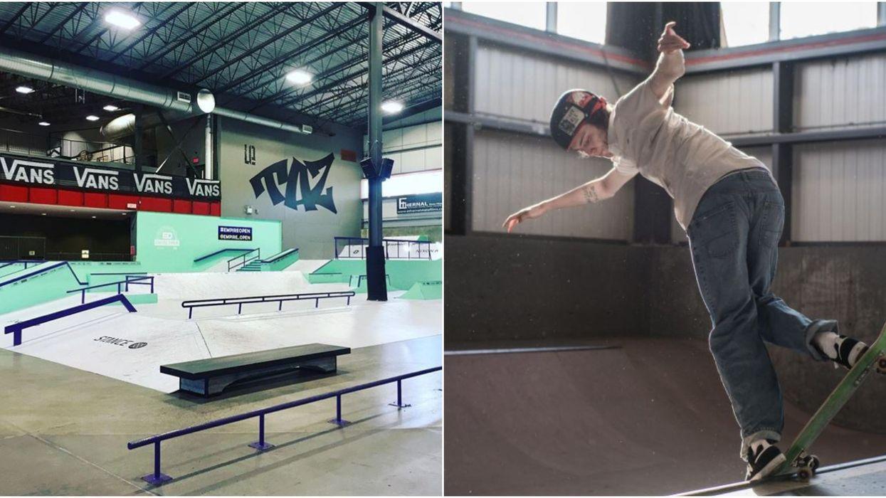 Le TAZ et l'école Édouard-Montpetit créent le premier programme skate-études