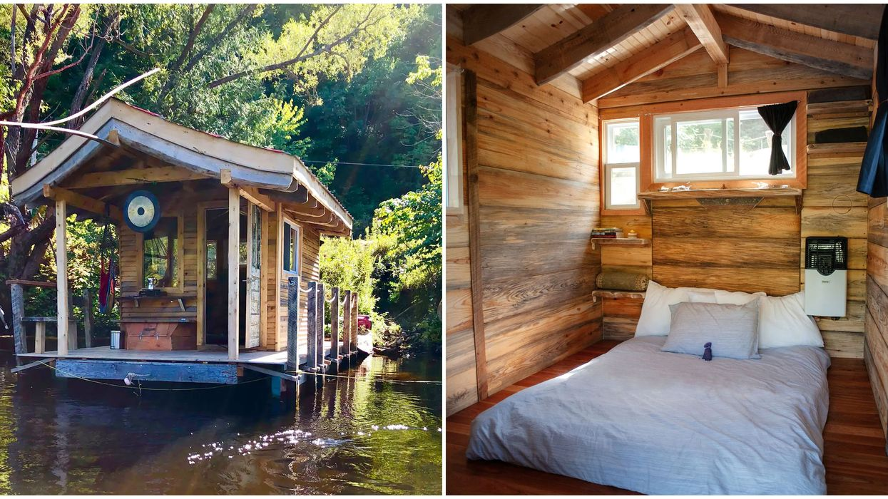 Floating Airbnb Near Ottawa Would Be An Unforgettable Getaway With Your BFF