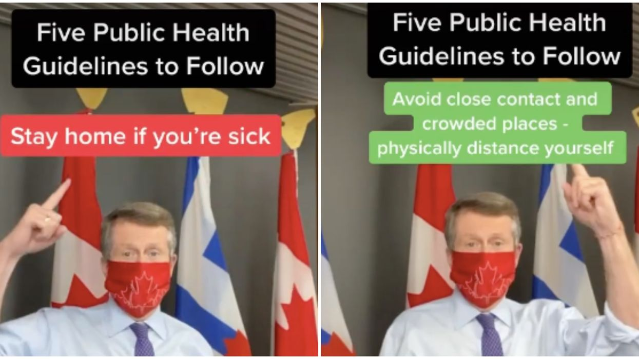 John Tory Is On TikTok Now & He's Determined To Make His Videos Less Lame